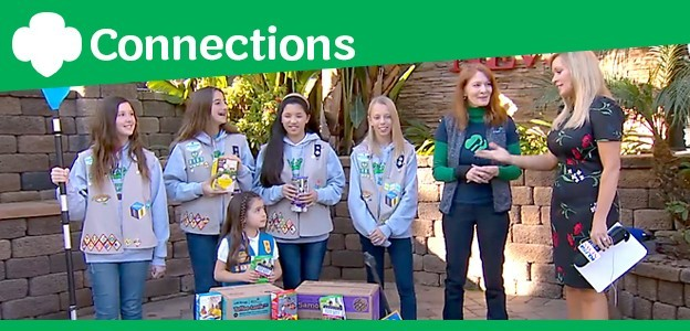 Girl Scouts on KUSI