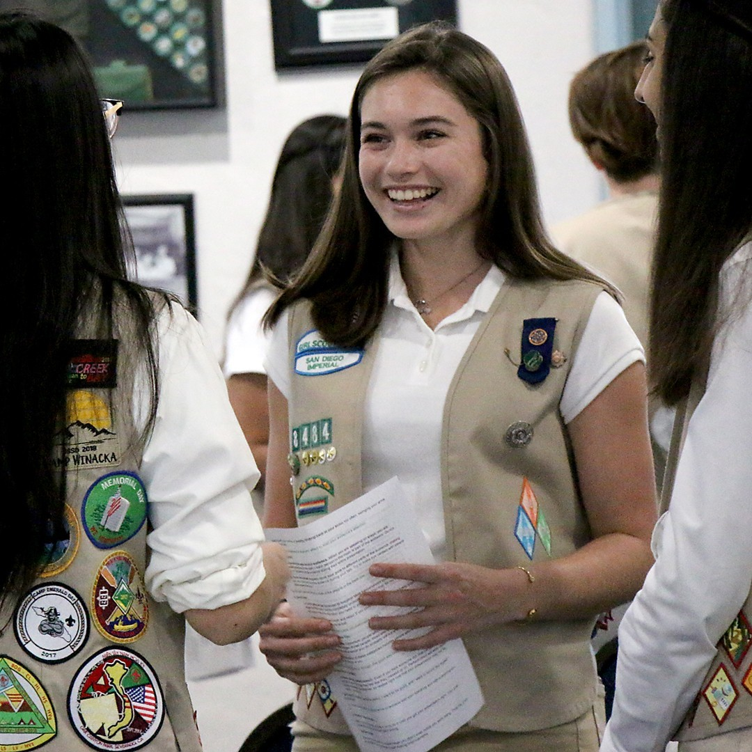 Emerging Leader Girl Scouts