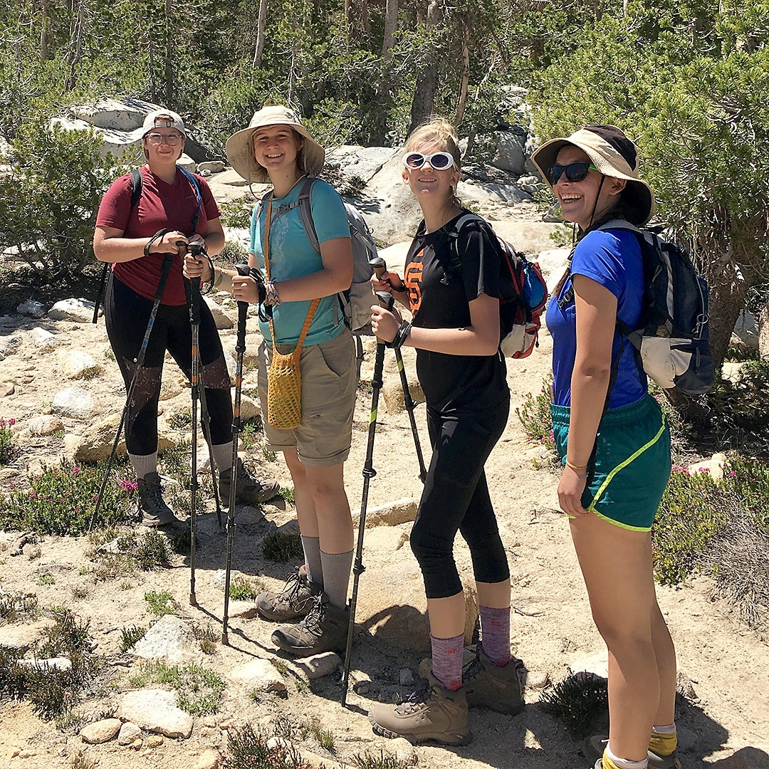 Girl Scout Hikers