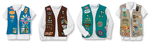 Vests_Daisy_Brownie_Junior_Cadette