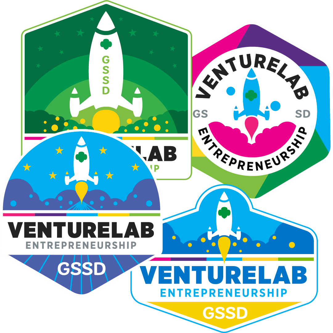 VentureLabs Entrepreneurship Patches