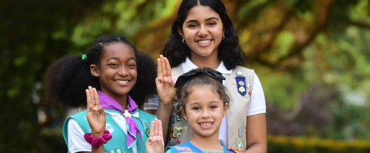 ways to give girl scouts san diego